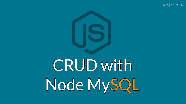 Node JS MySQL Crud operations