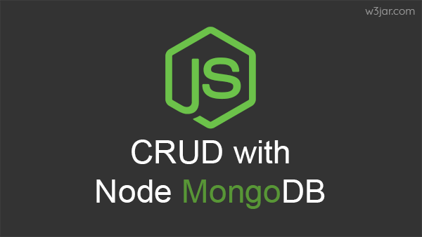 Node MongoDB CRUD Operation tutorial