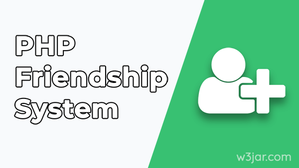 Friend request system in PHP PDO
