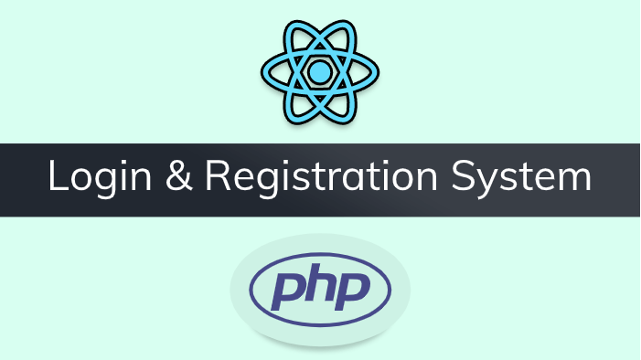 React JS + PHP + MySQL DB Login & Registration System